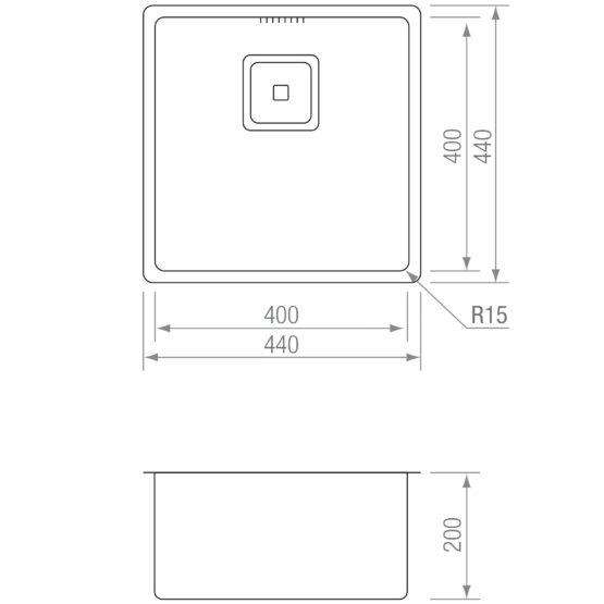 CUBETA CR15 TI 4040