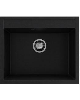 fregadero granito color negro