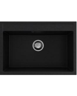 fregadero de granito color negro