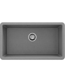 cubeta de cocina en granito color gris