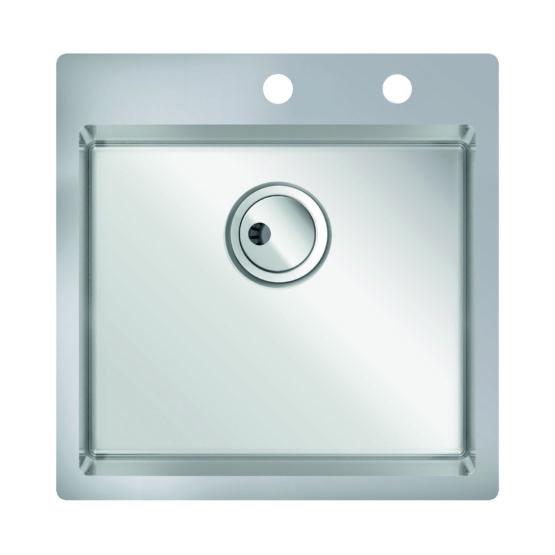 fregadero pequeño de cocina para mueble de 50 cm