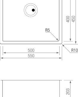 CUBETA R5 TI 5040 TITANIUM